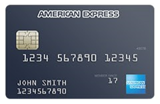 American Express credit card.